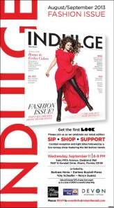 Pick up the Indulge magazine fashion issue for the latest Fall fashion finds