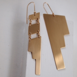 Catalyst Earrings from Synthesis Collection * Wear them as a pair or as a single piece.
