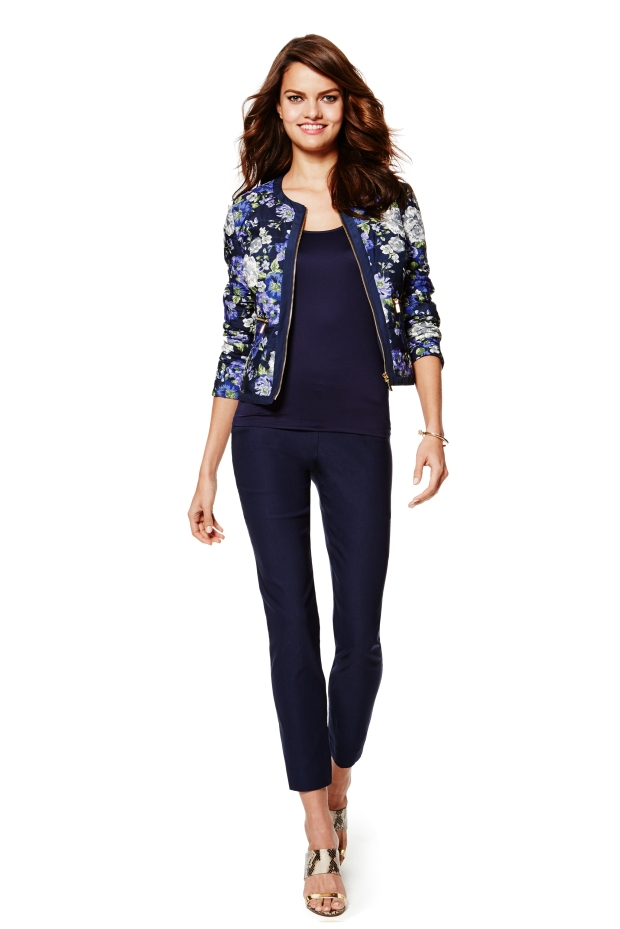 Charter Club top, jacket and pants