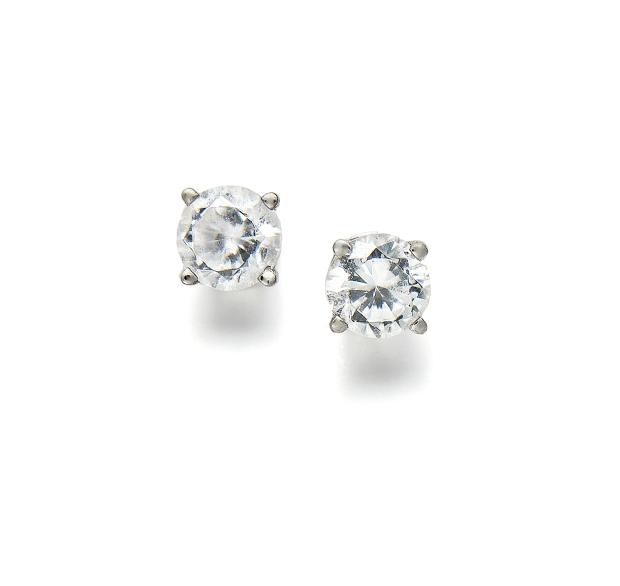 t.w.Diamond Studs 14k