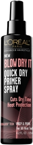 L'Oreal Paris Advanced Hairstyle Blow Dry It-Quick Dry Primer Spray