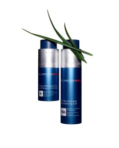 NEW ClarinsMen Anti-Fatigue Eye Serum & Revitalizing Gel